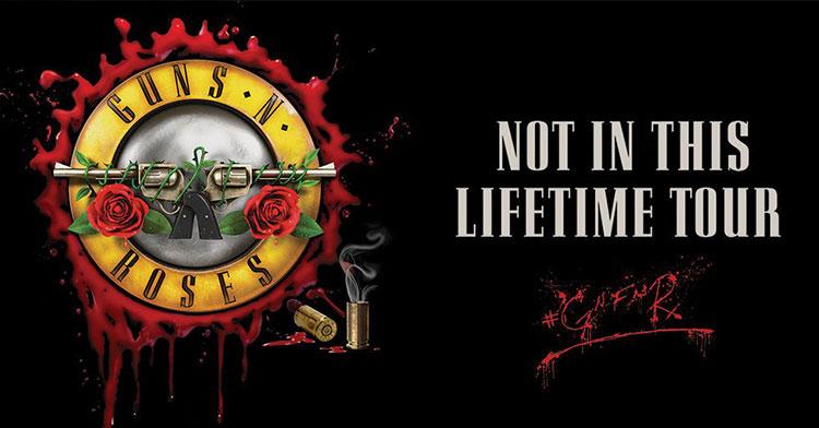 Guns N Roses Tour  Uk