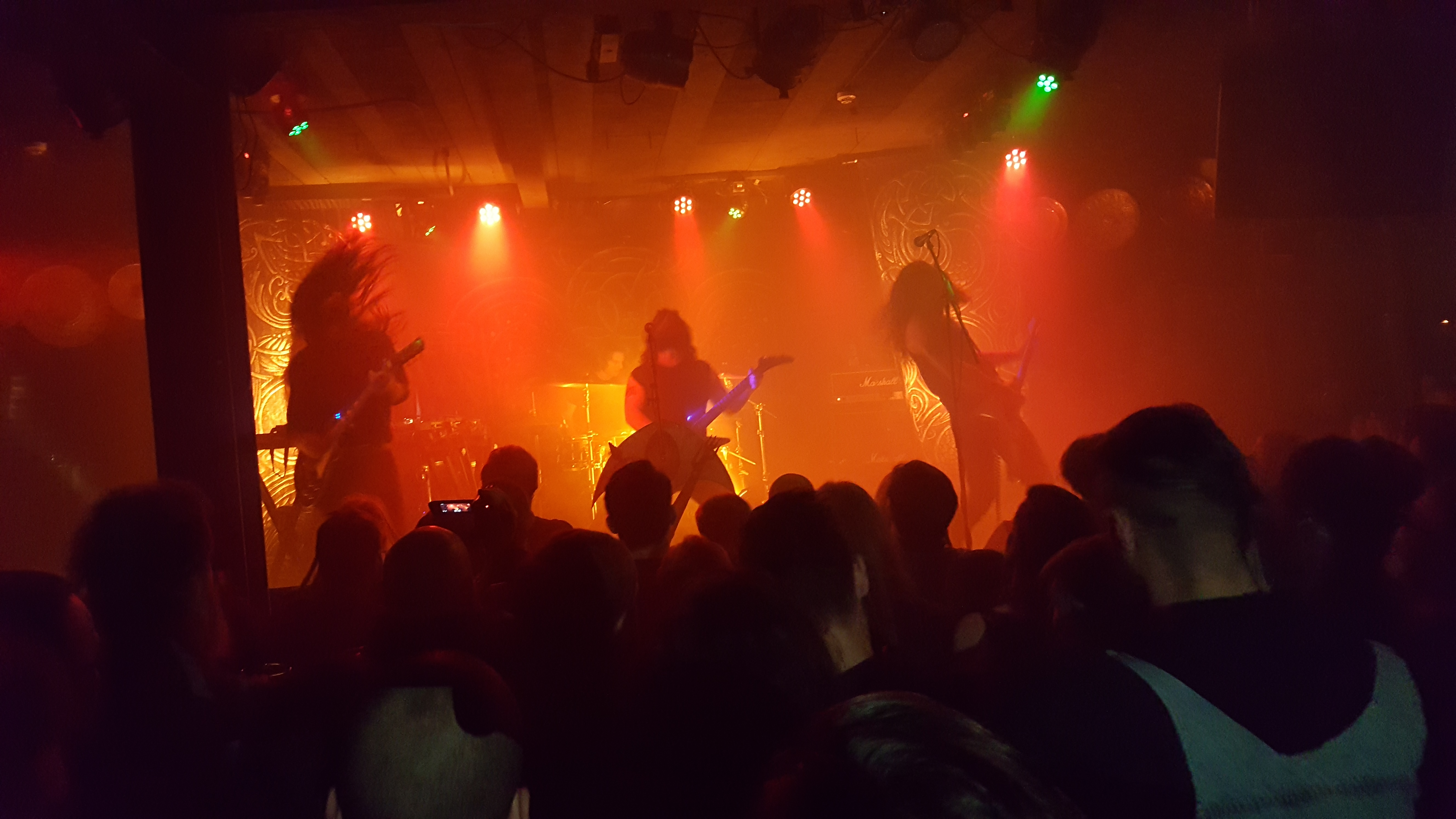 Live Review Wolves In The Throne Room Rebellion