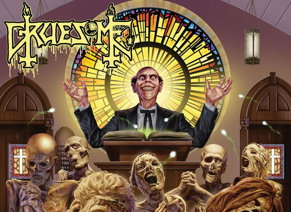 ALBUM REVIEW: Twisted Prayers - Gruesome - Distorted Sound