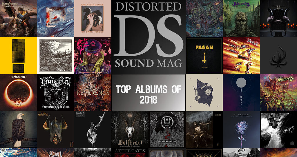Distorted Sound's Albums of the Year 2018 - Distorted Sound Magazine